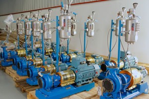Reactor Vessel pump set