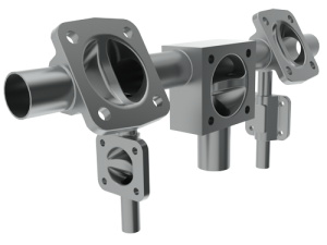 Saunders Tandem diaphragm valve