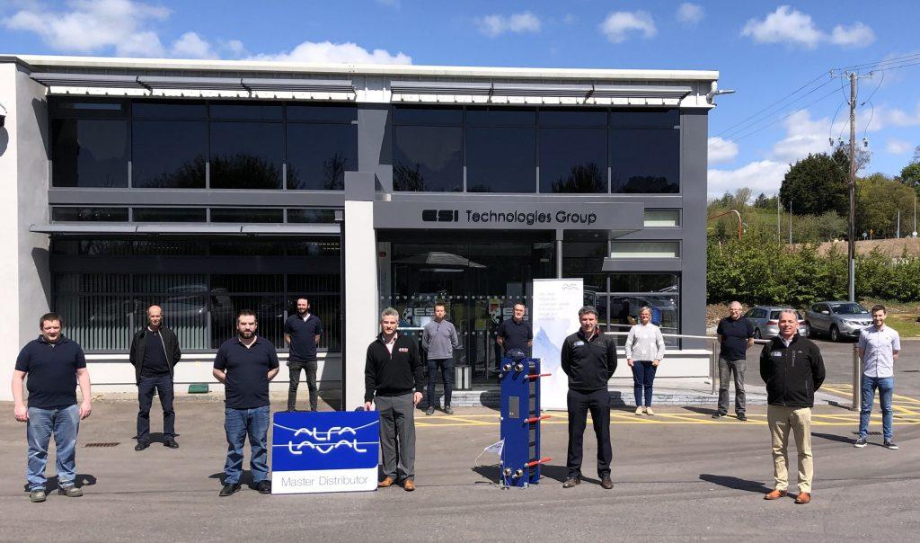 ESI Master Distributor for Alfa Laval